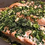 Roast Salmon With Herbs