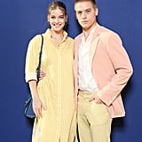 Barbara and Dylan at the Salvatore Ferragamo Pitti Uomo Show in June 2019