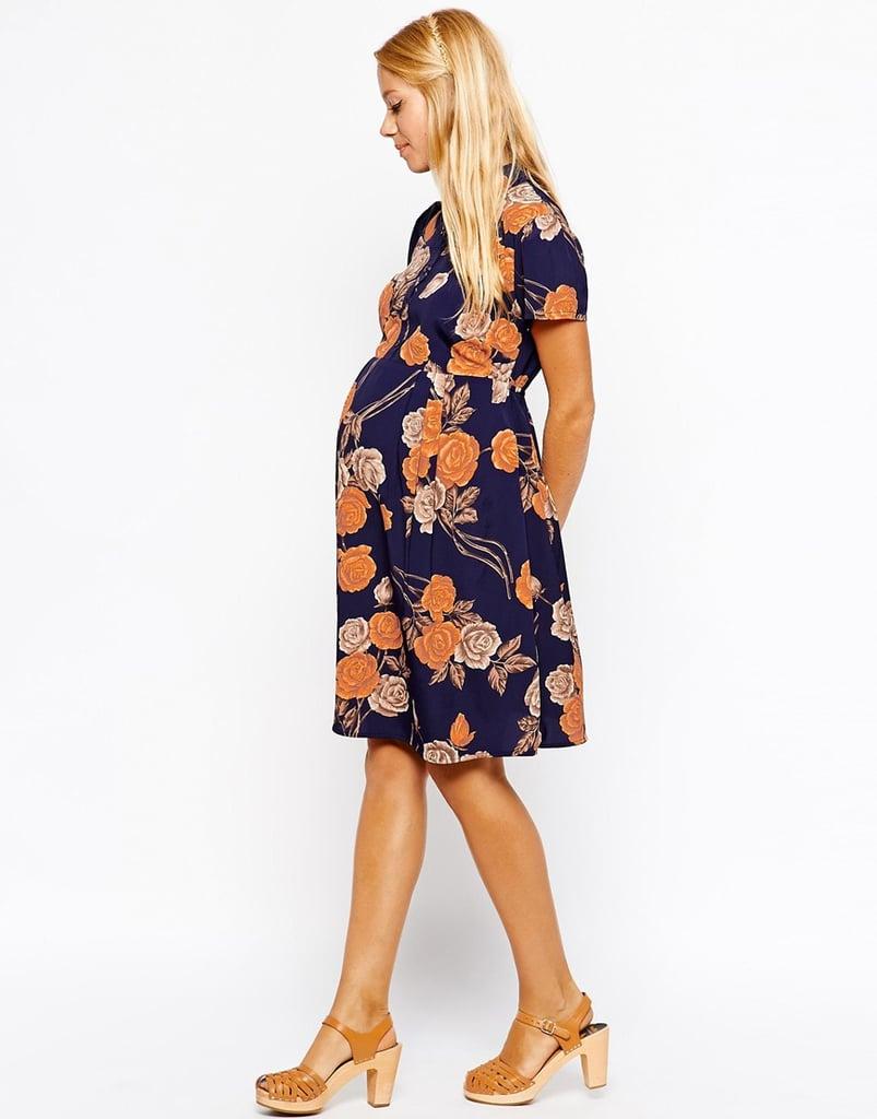 ASOS Vintage Floral Print Shirtdress