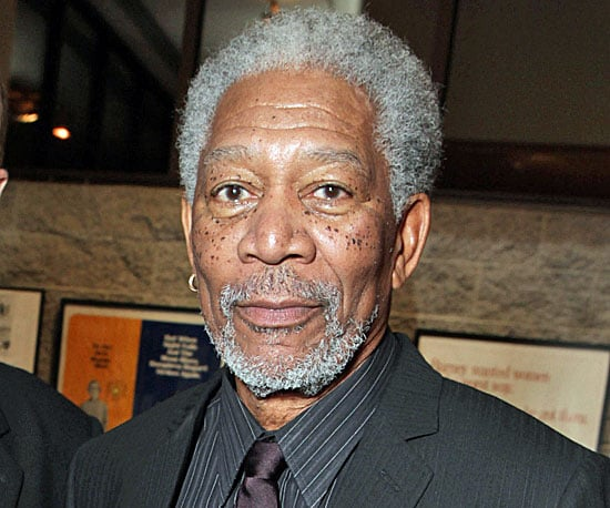 Morgan Freeman's Freckles