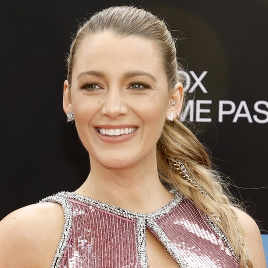 See Blake Lively's Delicate Pressed Flower Nail Art