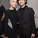 With Timothée Chalamet