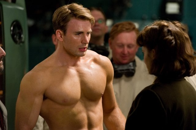 Chris Evans, Captain America: The First Avenger