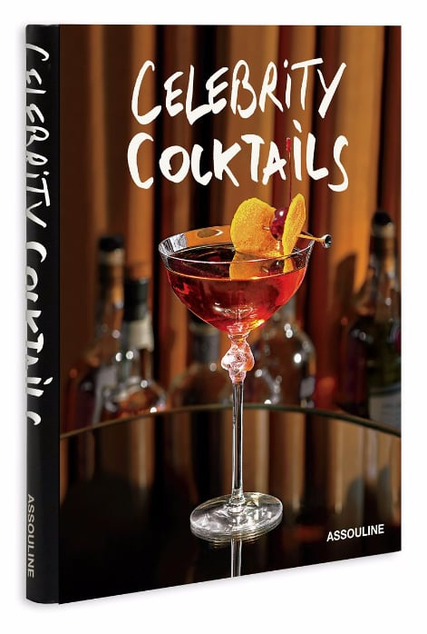 Next stop: cocktails, and why not drink like the stars with this Assouline Celebrity Cocktails (£37) book?