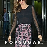 Miranda Kerr spent time in NYC.