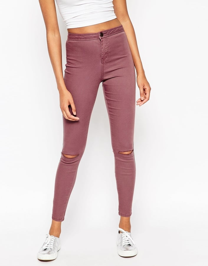 Collection ASOS Ankle Grazer High Waisted Jean ($54)