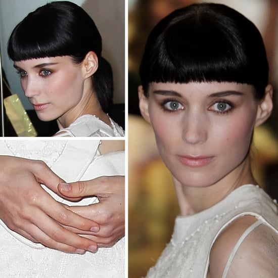 Rooney Mara's Girl with the Dragon Tattoo Premiere Beauty Look