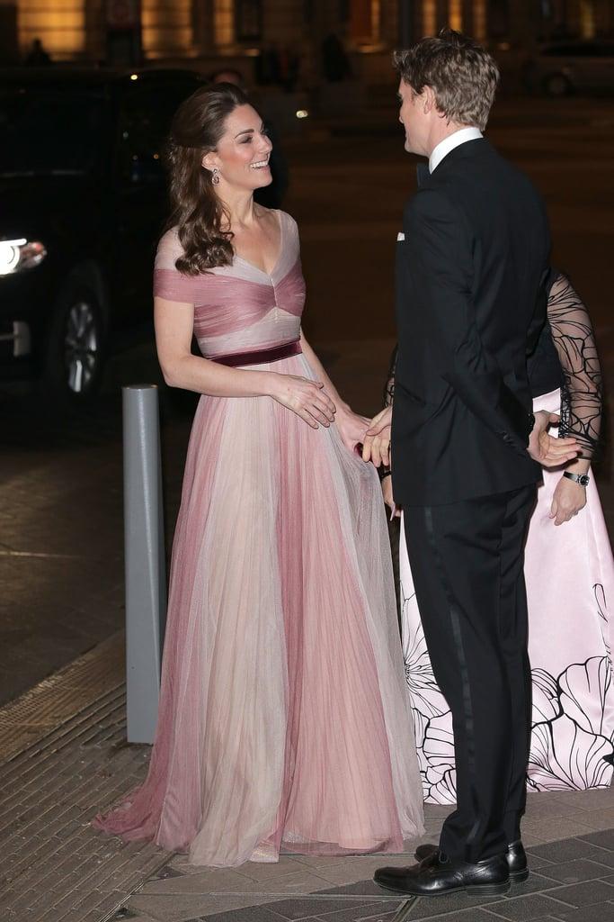 fb52a1b64575 Kate Middleton 100 Women in Finance Gala Dinner Feb. 2019 | POPSUGAR ...