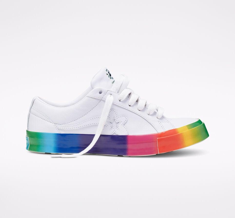 Converse x GOLF le FLEUR* Rainbow One Star Low Top