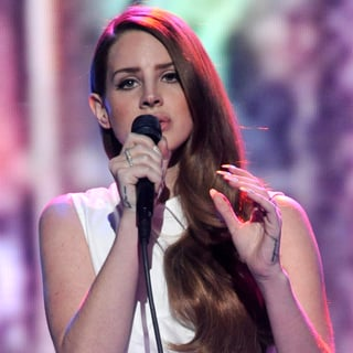 Lana Del Rey Bares Her Midriff on American Idol