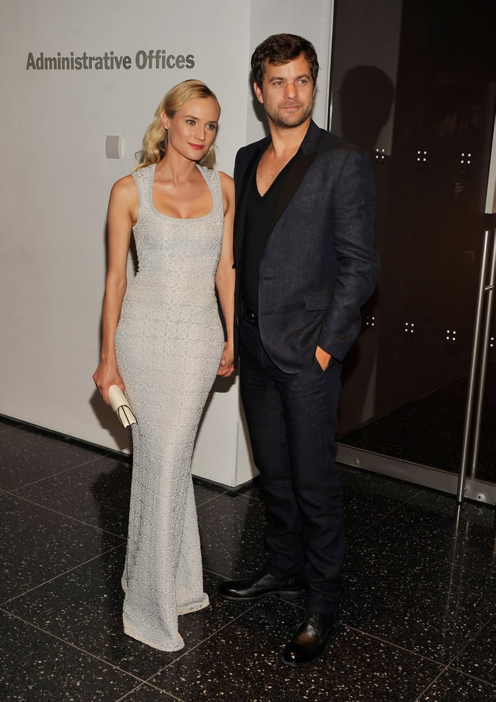 Diane Kruger and Joshua Jackson went to the Farewell My Queen New York screening on July 9.