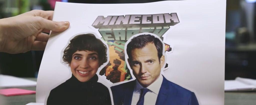 Will Arnett, Lydia Winters Host Minecraft Minecon Earth 2017
