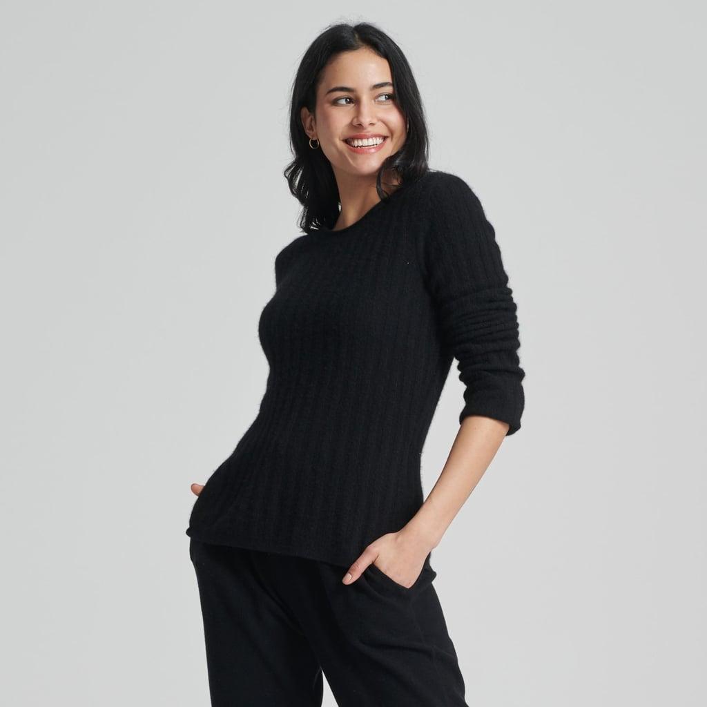 Naadam Cashmere Ribbed Sweater