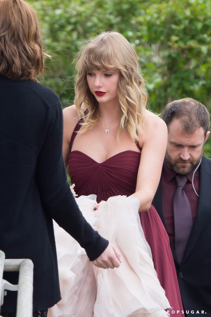 Taylor Swift Takes A Break From Plotting Revenge To Attend Her Best Friends Wedding