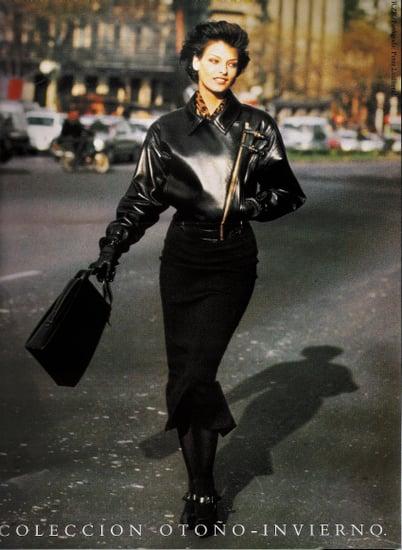Fab Ad: Linda Evangelista for Loewe