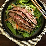 Asian Salad With Flank Steak