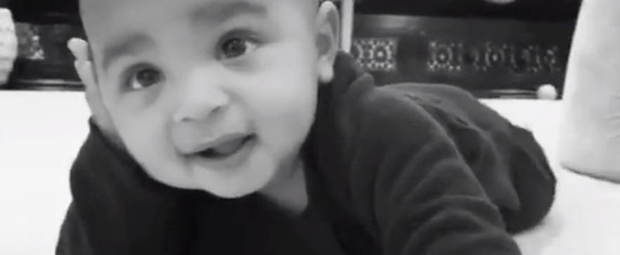 Kim Kardashian's Birthday Message For 1-Year-Old Psalm West