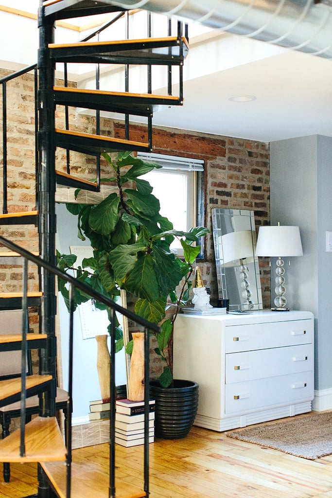 The large Chicago duplex has three bedrooms, two bathrooms ...