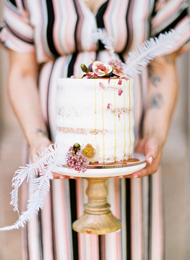 Elegant Naked Cake