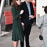 Prince William and Kate Middleton Evelina Hospital Dec. 2018