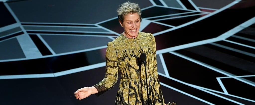 Frances McDormand Deserves an Oscar For Her Incredible Oscars Speech