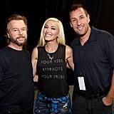 David Spade, Gwen Stefani, and Adam Sandler