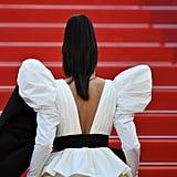 Deepika Padukone White Dress at Cannes 2019