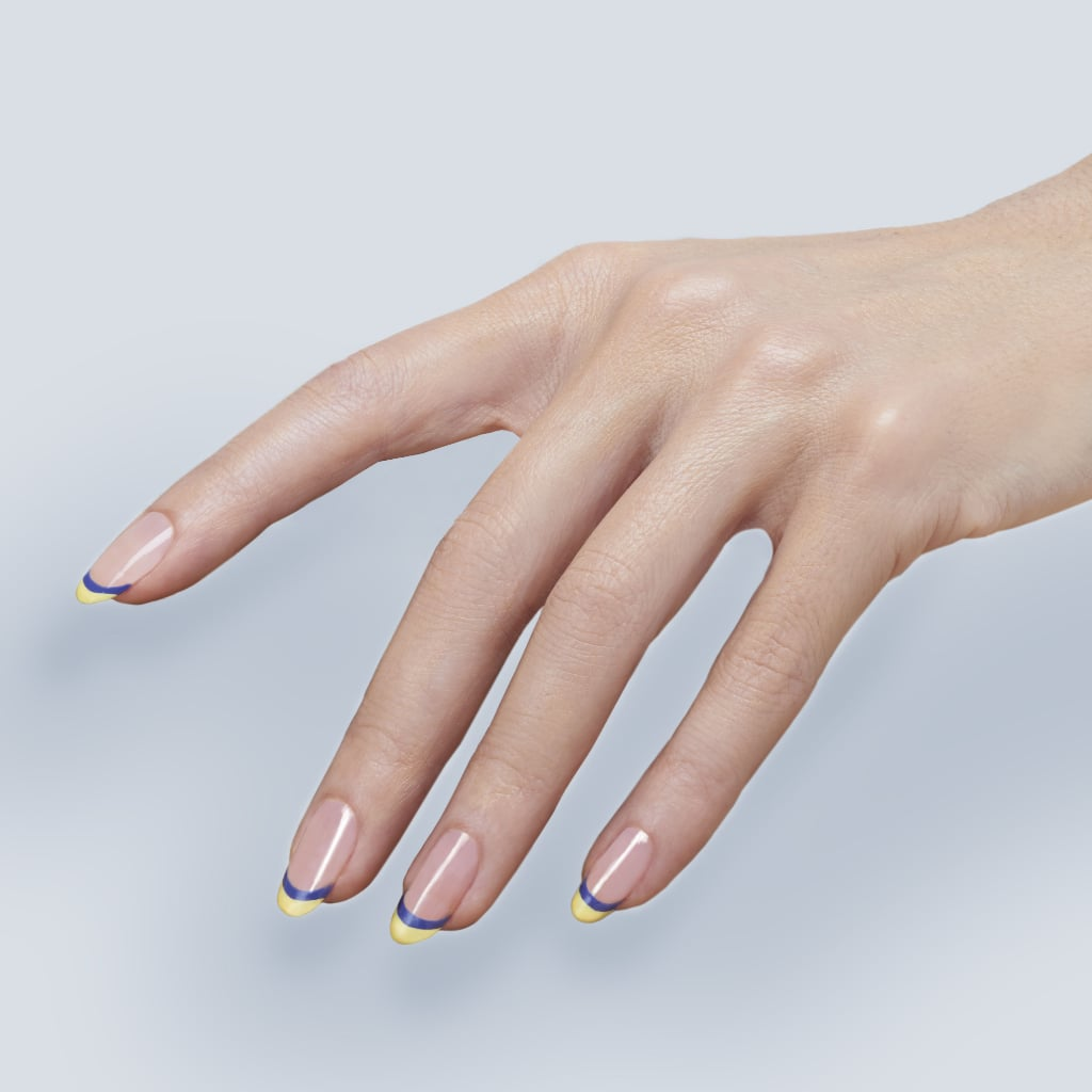 A French Manicure Tutorial That Won't Bore You to Death