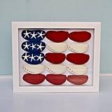 Patriotic Beachy Shadow Box