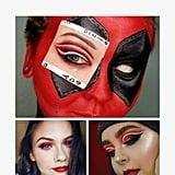 Deadpool Halloween Makeup