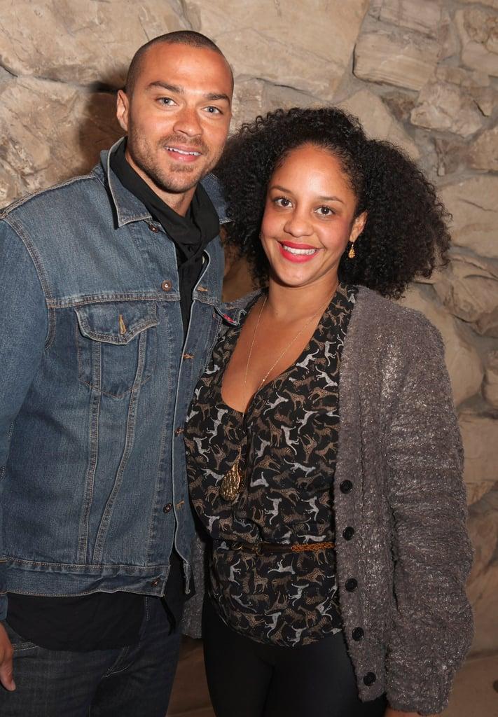 Jesse Williams and Aryn Drake
