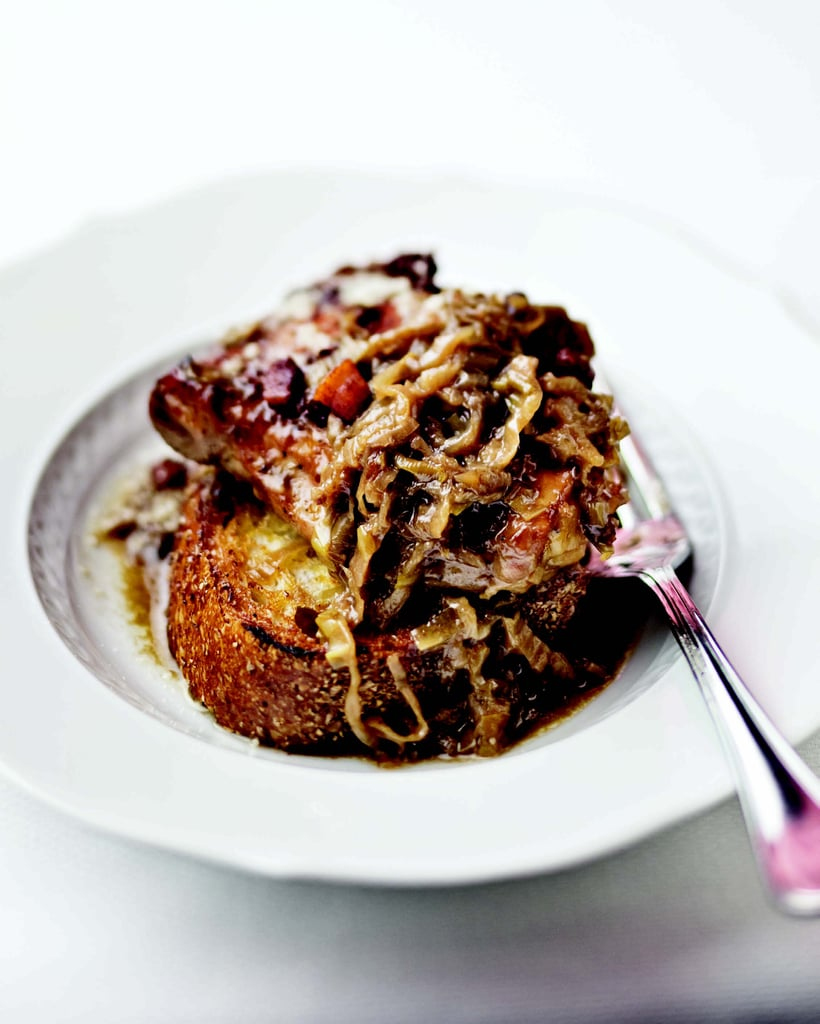 Braised Chicken With Sweet Onions and Parmigiano