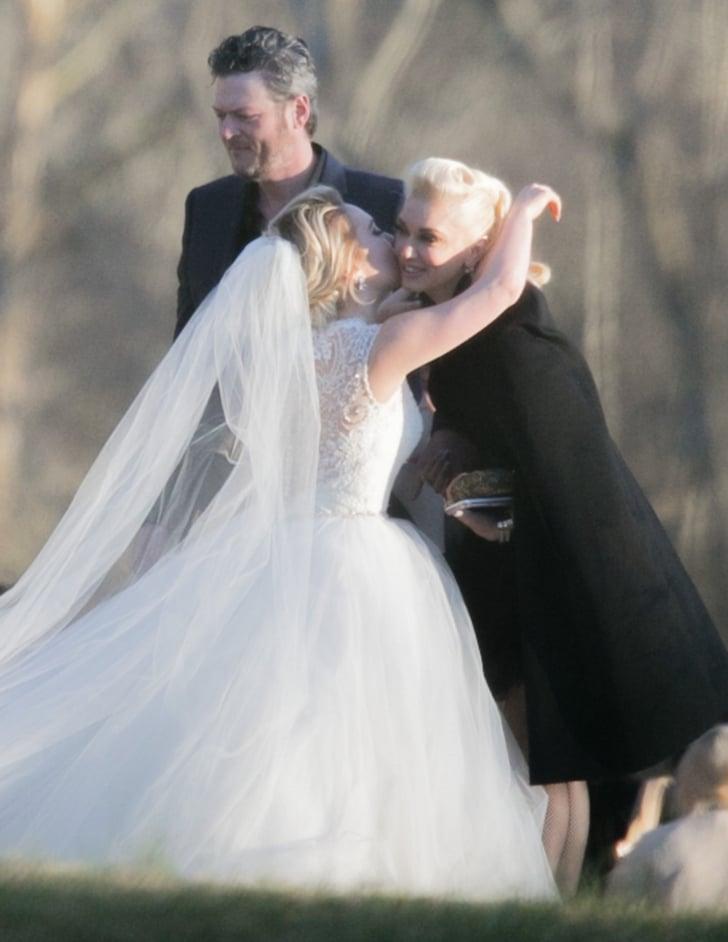 Gwen Stefani And Blake Shelton At Raelynn S Wedding 2016