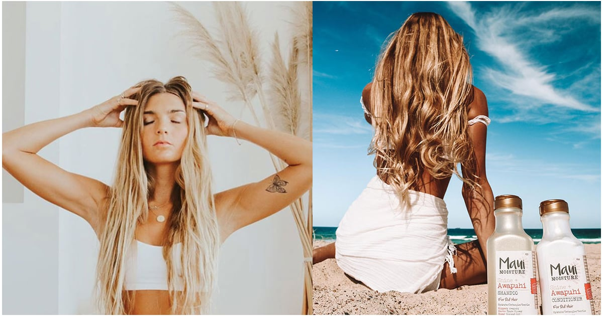 The One Product Sjana Elise Uses to Keep Her Signature Beach Waves Hydrated and Healthy