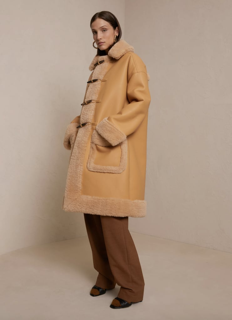 A.L.C. Brunswick Vegan Leather Coat