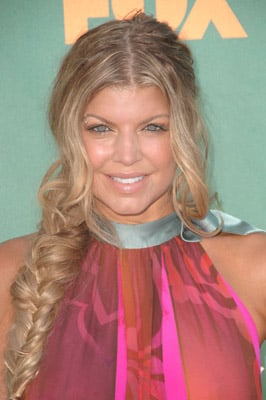 Fergie at the 2008 Teen Choice Awards: Hair and Makeup