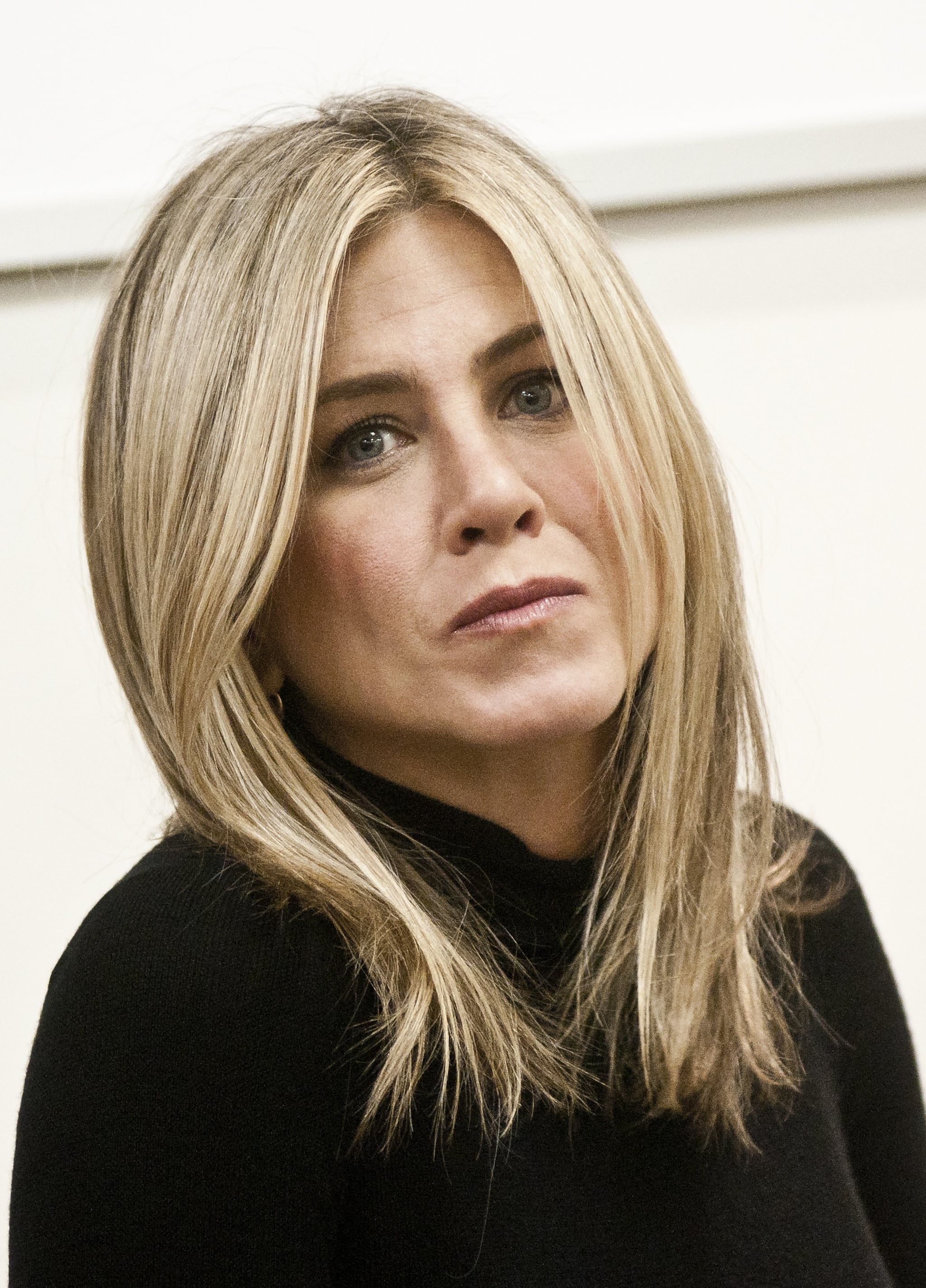 Jennifer Aniston headed to Virginia from NYC for the visit.