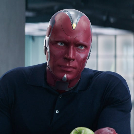 Pictures of Paul Bettany Out of Costume as Vision