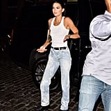 Kendall Sporting Acid-Wash Denim