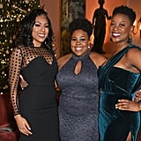 Liisi LaFontaine, Amber Riley, and Ibinabo Jack
