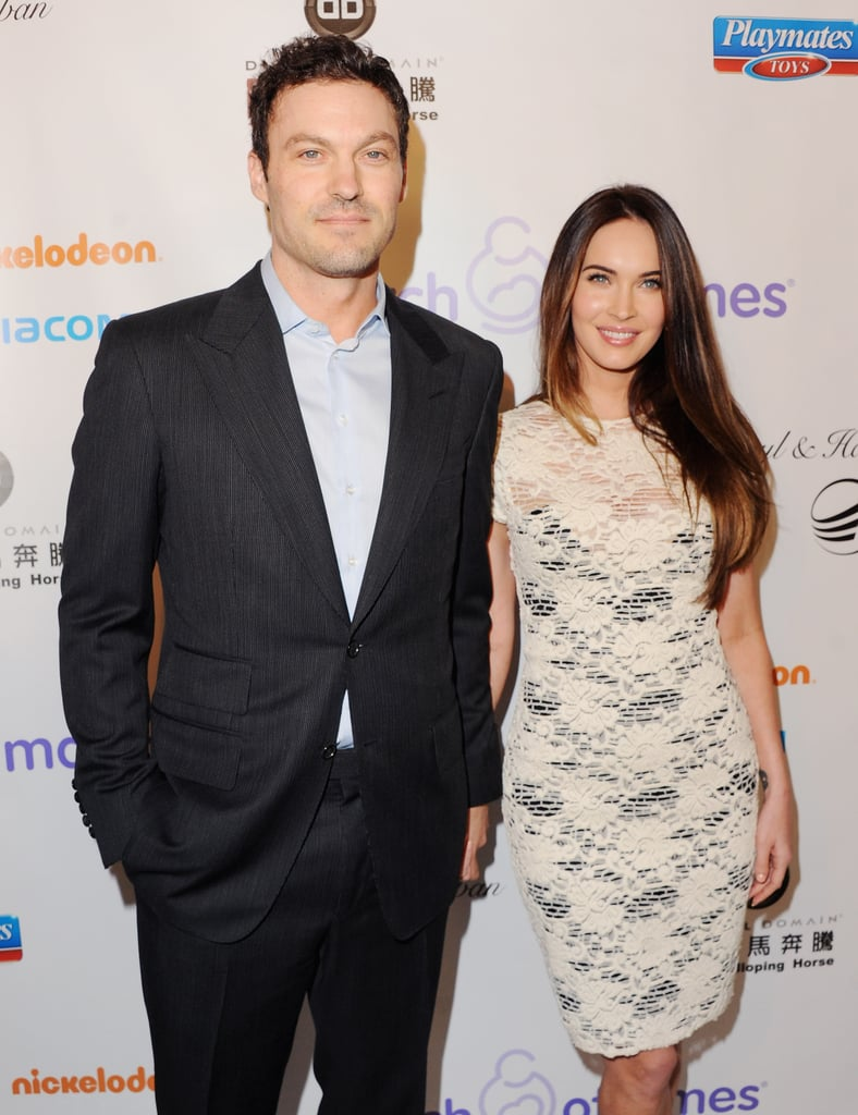 They held hands on the red carpet during a March of Dimes luncheon in LA in December 2012.