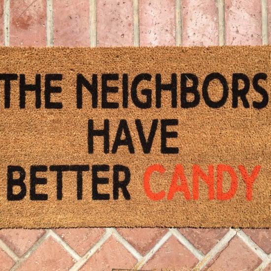 Funny Halloween Doormats