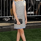 Kiernan Shipka supported the cast of The Odd Life of Timothy Green at the LA premiere.