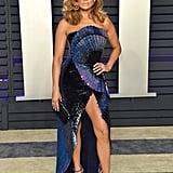 Jennifer Lopez at the 2019 Vanity Fair Oscar Party