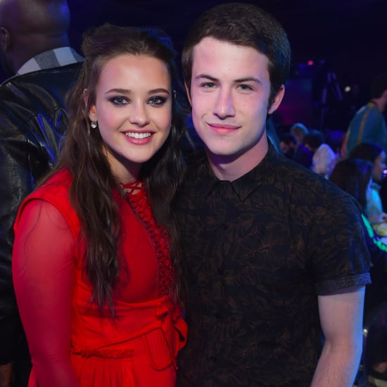 Dylan Minnette and Katherine Langford at 2017 MTV Awards