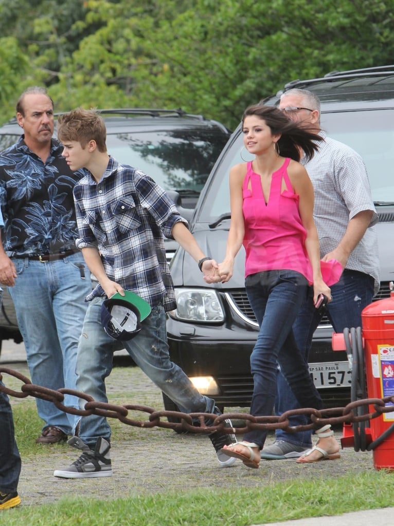Selena Gomez and Justin Bieber went on a date in Rio de Janeiro.