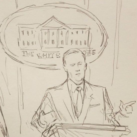 CNN Sends Sketch Artist to White House Briefings