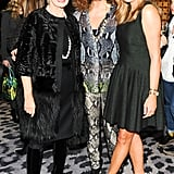 Carolina Herrera, Diane von Furstenberg, and Marigay McKee attended the CFDA bash for McKee.