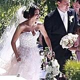 "Channing and Jenna said ""I do"" in Malibu, CA, on July 11, 2009."