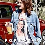 Selena Gomez Wearing Selena Quintanilla T-Shirt Feb. 2018